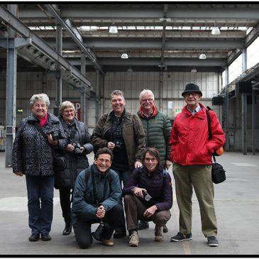 Verroest gezelschap; Werkgroep Abstract op bezoek bij de DRU in Ulft